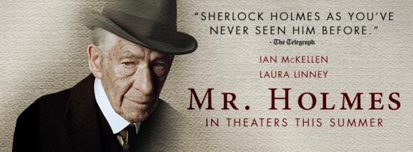 Mr. Holmes al cinema, la nuova luce di un mito