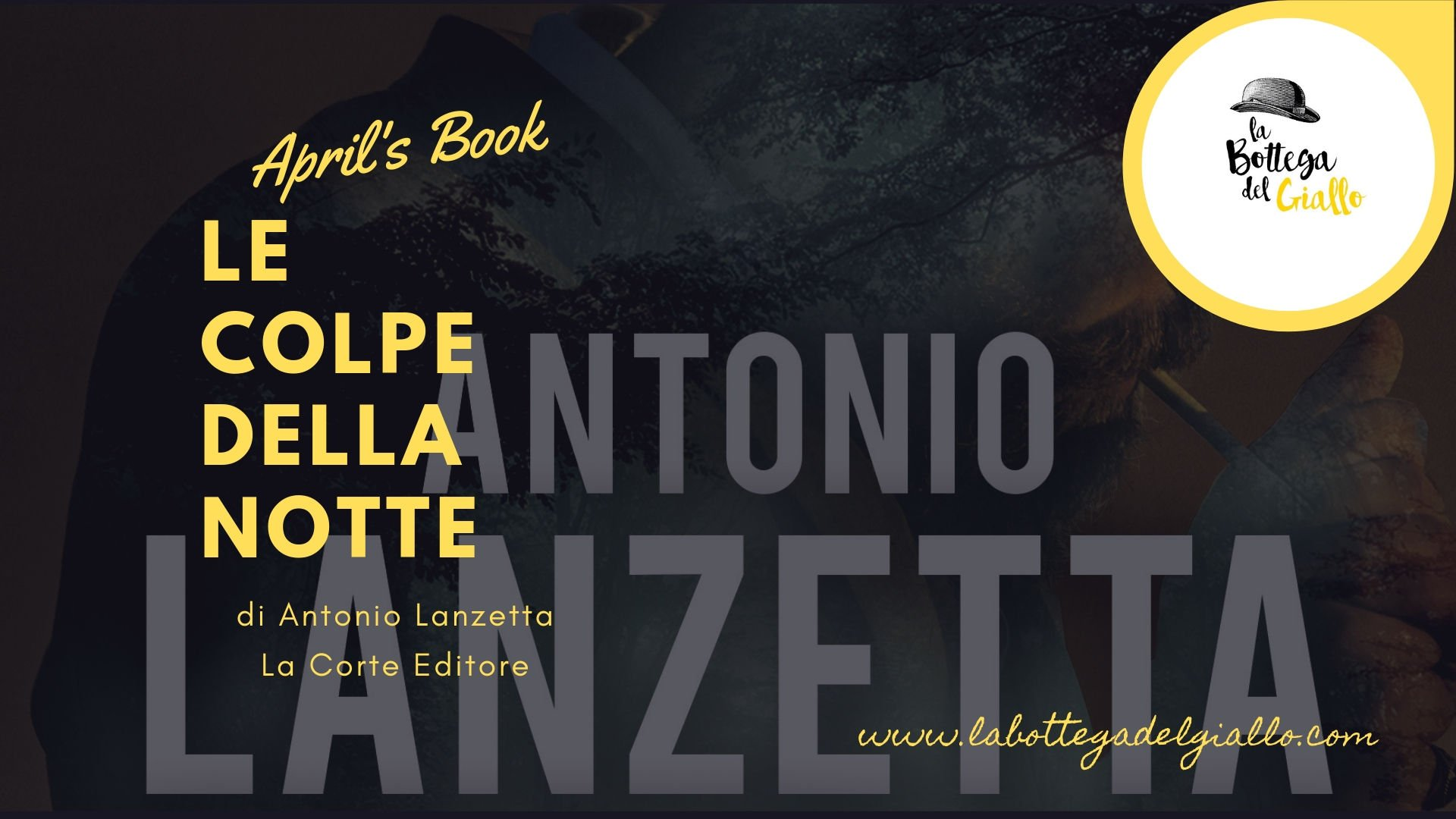 """""""Le colpe della notte"""" di Antonio Lanzetta"""