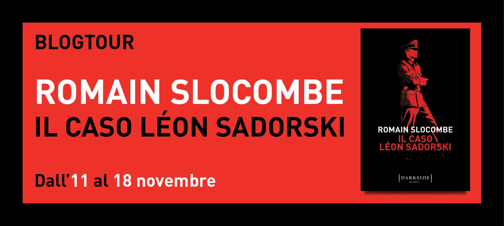 """Presentazione ed estratto del romanzo """"Il caso Léon Sadorski"""""""